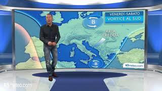 Meteo: tra Venerdi e Sabato pioggia, neve e vento al Sud