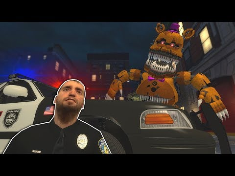 FIVE NIGHT'S AT FREDDY'S CITY ESCAPE! - Garry's Mod Multiplayer Gameplay - FNAF Gmod Survival