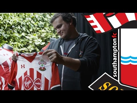 Baltimore to Southampton: Saints fan Ed Powell brings the new kit home