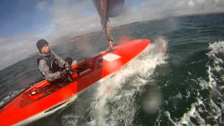 Epic winds at Weymouth - part 3
