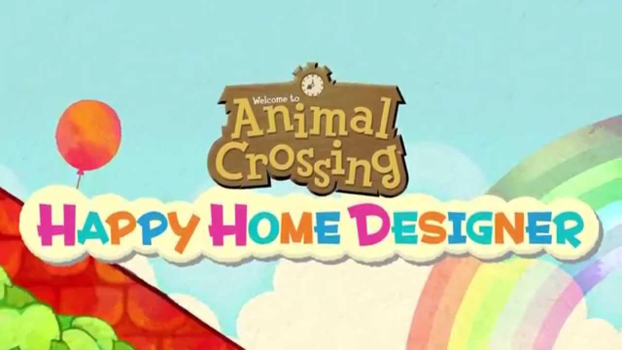 Vid O Test Animal Crossing Happy Home Designer Youtube