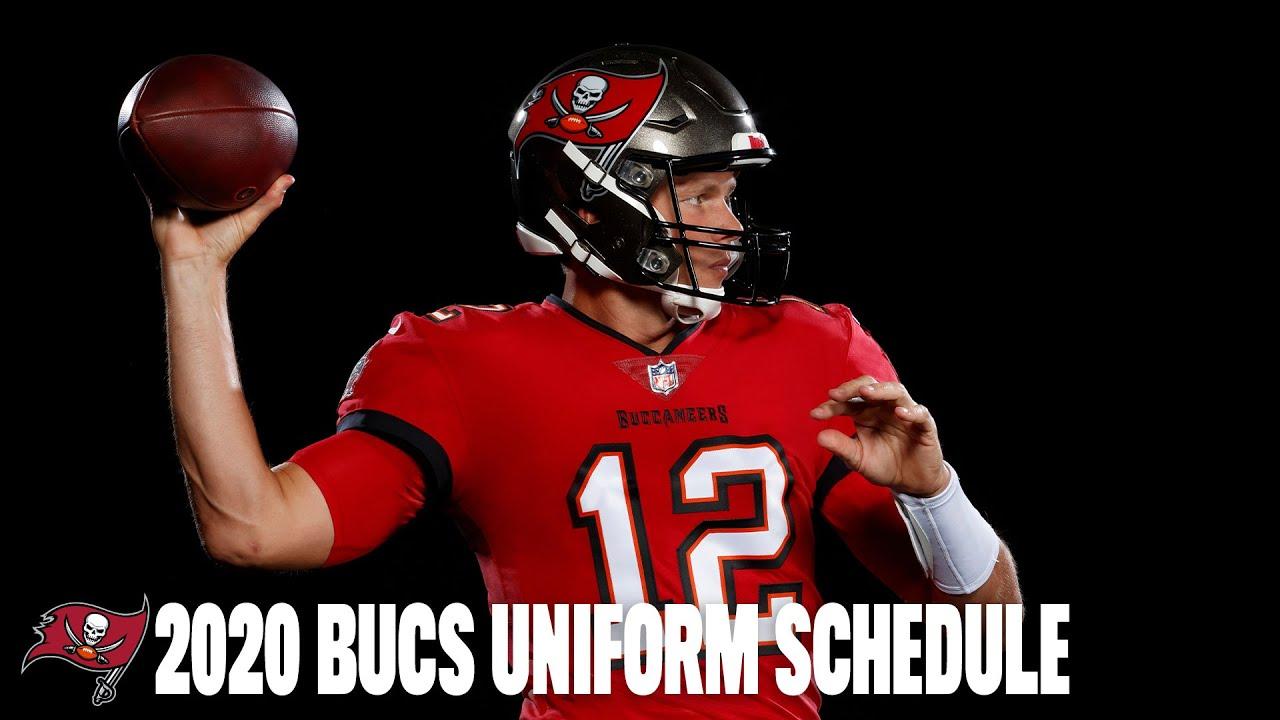 Bucs Reveal 2020 Uniform Schedule Youtube