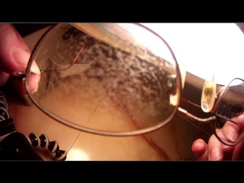 Full Process! Remove Coating from Glasses DIY A to Z