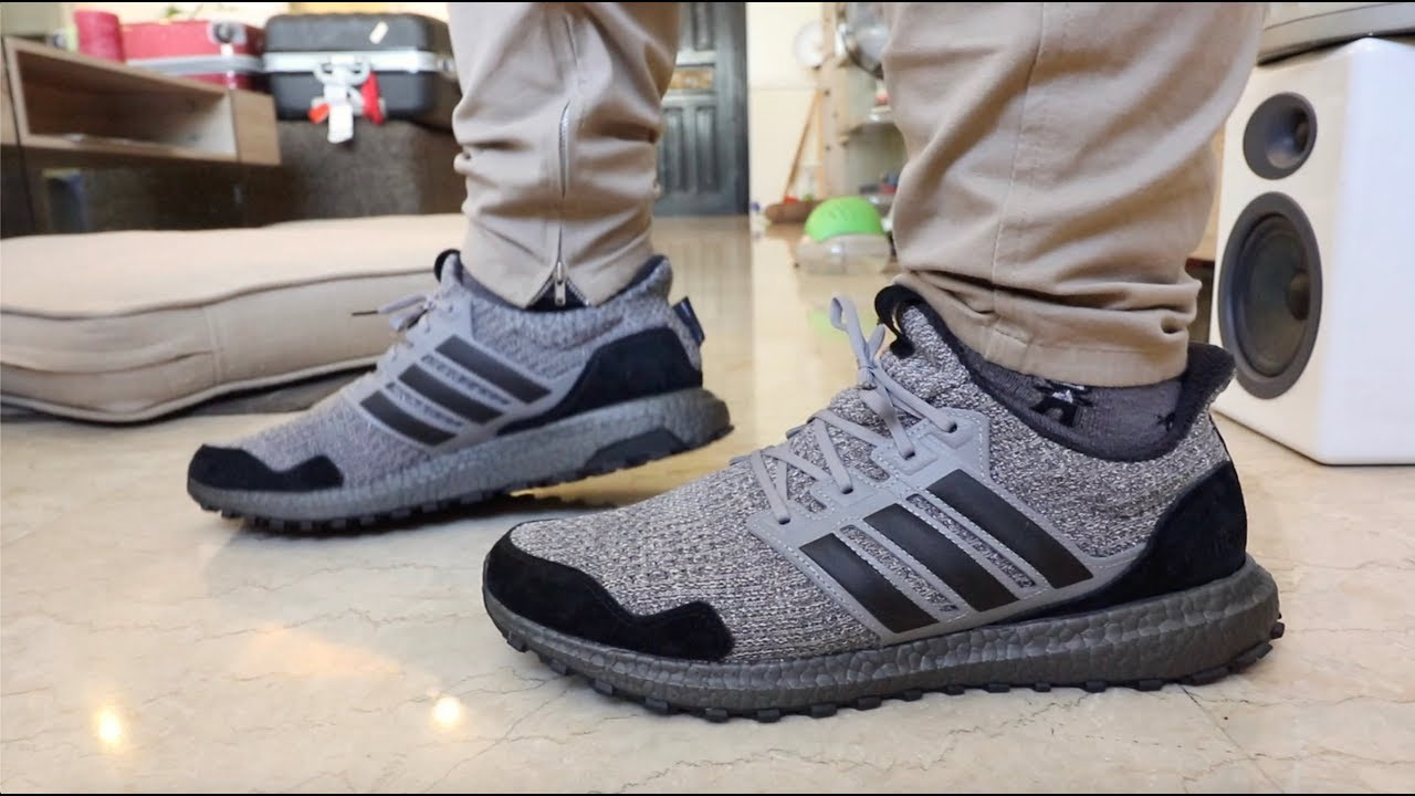 on sale 5262f 933d1 ON-FEET REVIEWS  ADIDAS GAME OF THRONES ULTRA BOOST HOUSE STARK   NIGHT S  WATCH