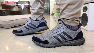 75cca7b29 ON-FEET REVIEWS  ADIDAS GAME OF THRONES ULTRA BOOST HOUSE STARK   NIGHT S  WATCH
