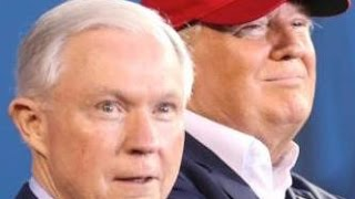 Jeff Sessions visits a Trump campaign office Free HD Video