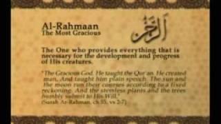Names of Allah - Al Rahman