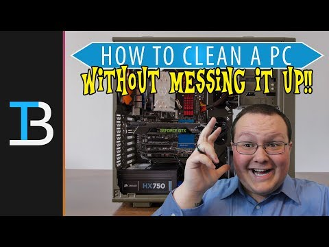How To Clean Your PC Without Messing It Up