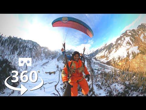 VR 360 Video | Paragliding In Manali Go Pro Max