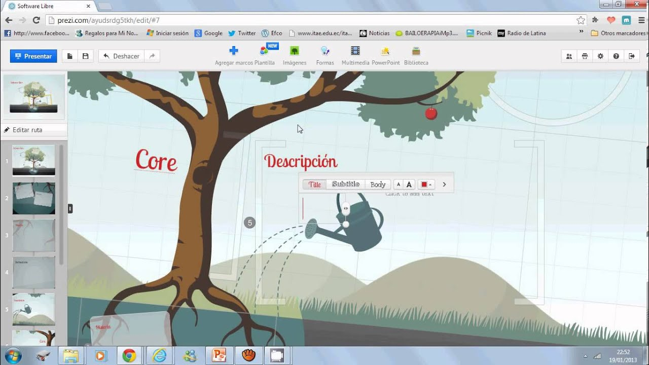 Proyecto Prezi Software Libre  YouTube