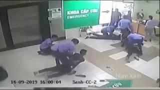 Nhóm thanh niên ẩu đả đánh nhau tại bệnh viện, Bảo Vệ đã xử lý nhanh gọn khiến tất cả bất ngờ