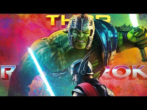 Maz - Thor and Hulk...WITH LIGHTSABERS!
