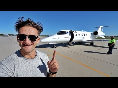 Thumbnail: MY OWN LEAR JET!!