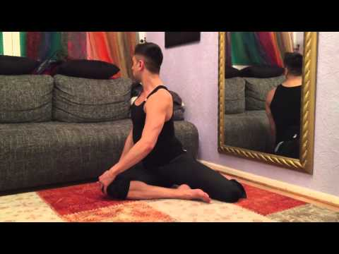 20 Minutes Perfect Body Stretch At Home With Some Oriental flavour! Dehn-Übungen für Zuh