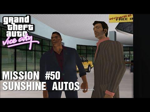 GTA: Vice City - Mission #50 - Sunshine Autos