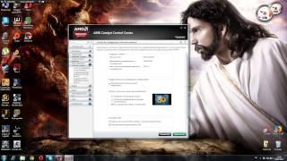 Как растянуть игру на весь экран ATI Radeon