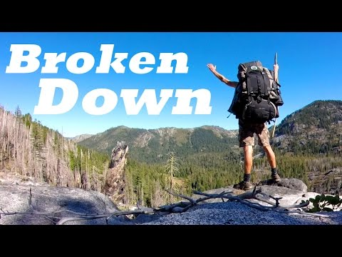 BROKEN DOWN: My True Story of Getting Lost in the Wilderness