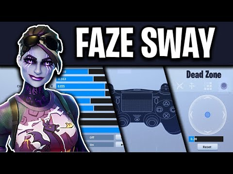 Faze Sway Fortnite Settings, Controller Binds and Setup (UPDATED 2019)