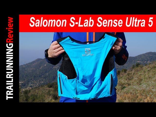 mochila salomon s-lab sense ultra 8 grado