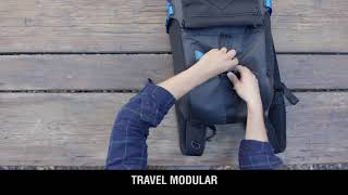 BAGSMART Modular Backpack with the Perfect Weight Distribution
