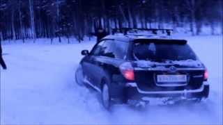 Как мы убивали Subaru. Subaru Legacy (Субару Легаси) по бездорожью.