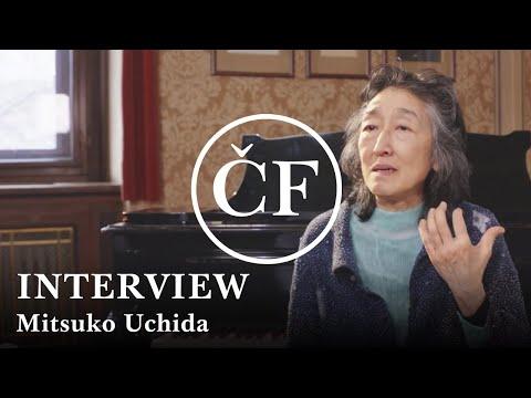 Mitsuko Uchida: interview (Česká filharmonie)