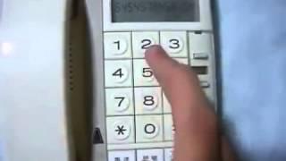 電話機でルパン三世のテーマ曲を弾いてみた thumbnail