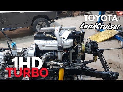 Land Cruiser BJ73, 1HD-TURBO CONVERSION