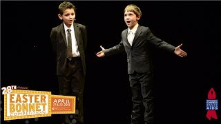 Newsies at Easter Bonnet Competition 2014