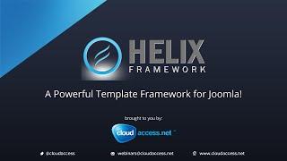 JoomShaper Helix V2 Webinar