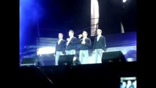 Westlife singing Flying Without Wings live at their last ever concert Croke Park 23rd June 2012