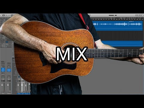 Logic Pro Mix Tutorial: Ambient Acoustic Guitar
