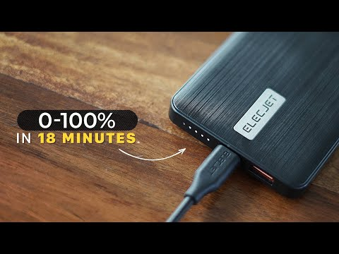 World's Fastest Charging Power Bank!