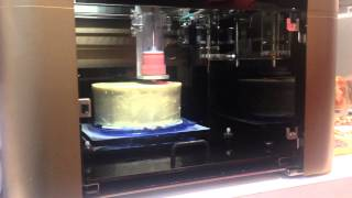 3D Food Printer By XYZ Printing At The CES
