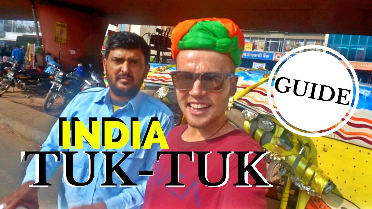 DRIVING a TUK-TUK in INDIA