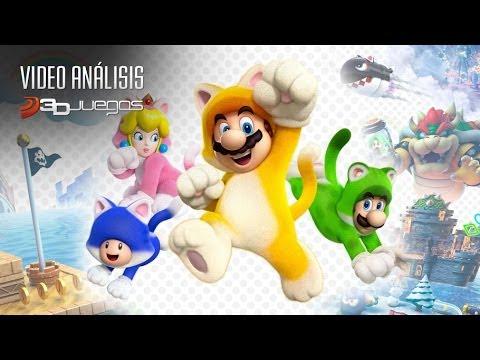 Super Mario 3D World - Vídeo Análisis 3DJuegos
