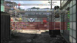 eXcReTe - Modern Warfare 2 : 4v4 SnD on Favela