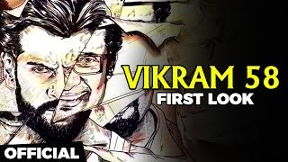 VIKRAM 58 - Official First Look Reaction | Chiyaan Vikram | TK