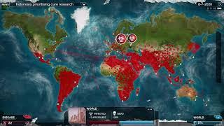 Plague Inc  Evolved Bacteria Mega Brutal