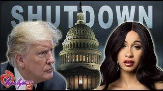 Cardi B blasts Trump over government shutdown~