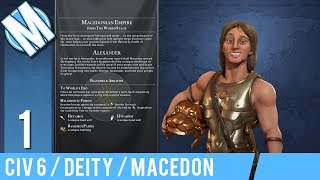 macedonia   civilization 6   part 1   i am not afraid of an army of lions   deity