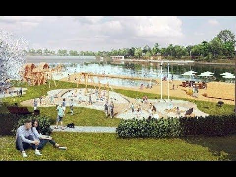 Комсомольское озеро в Ставрополе: благоустройство идет активными темпами