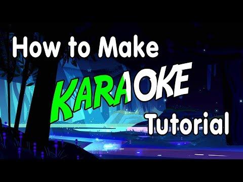 How to Make Karaoke Videos - Vegas Pro Tutorial