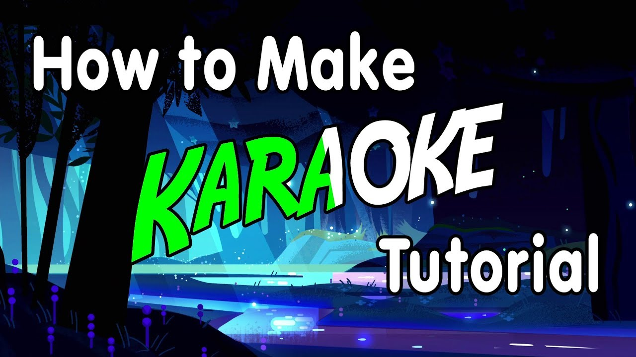 How to make your own video karaoke with video karaoke maker youtube.