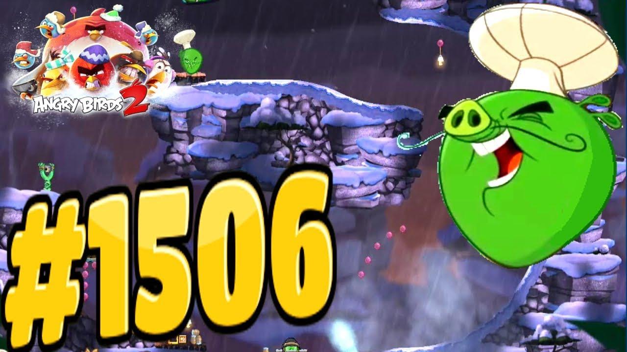 Angry Birds 2-Cobalt Plateaus Hamtarctica Chef Pig Level