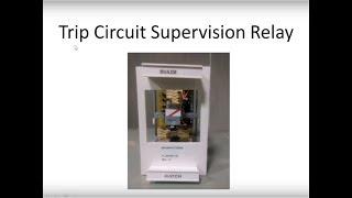 Circuit breaker trip circuit supervision trip circuit supervision relay hindi swarovskicordoba Choice Image