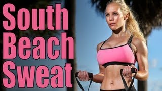 The Best Workout for Toned Arms 💪 Sexy Guns on South Beach 💖