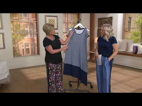 f4405f3ac9230 Cuddl Duds Flexwear Asymmetric Dress with Pockets on QVC - YouTube
