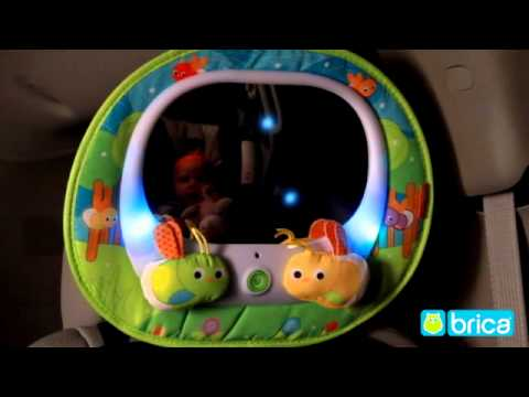 Brica Baby In Sight Magical Firefly Auto Mirror Youtube