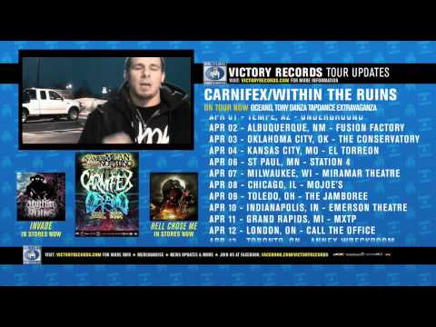 On Tour Now: Carnifex and Within The Ruins (Mar-May 2011)